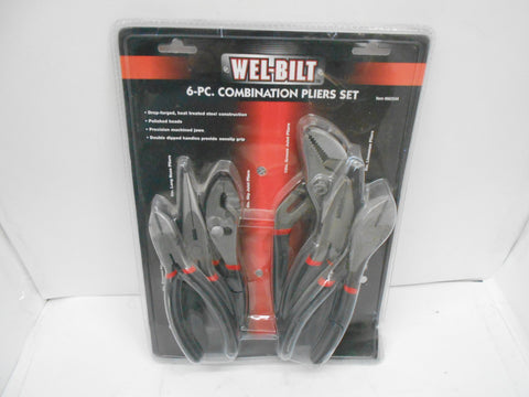 6PC PLIER SET