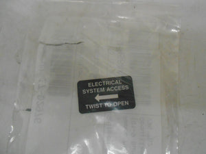 ELECTRICAL LABEL - 17-02976