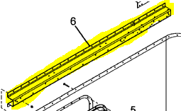 UPPER LONGERON EXTENSION BRACE