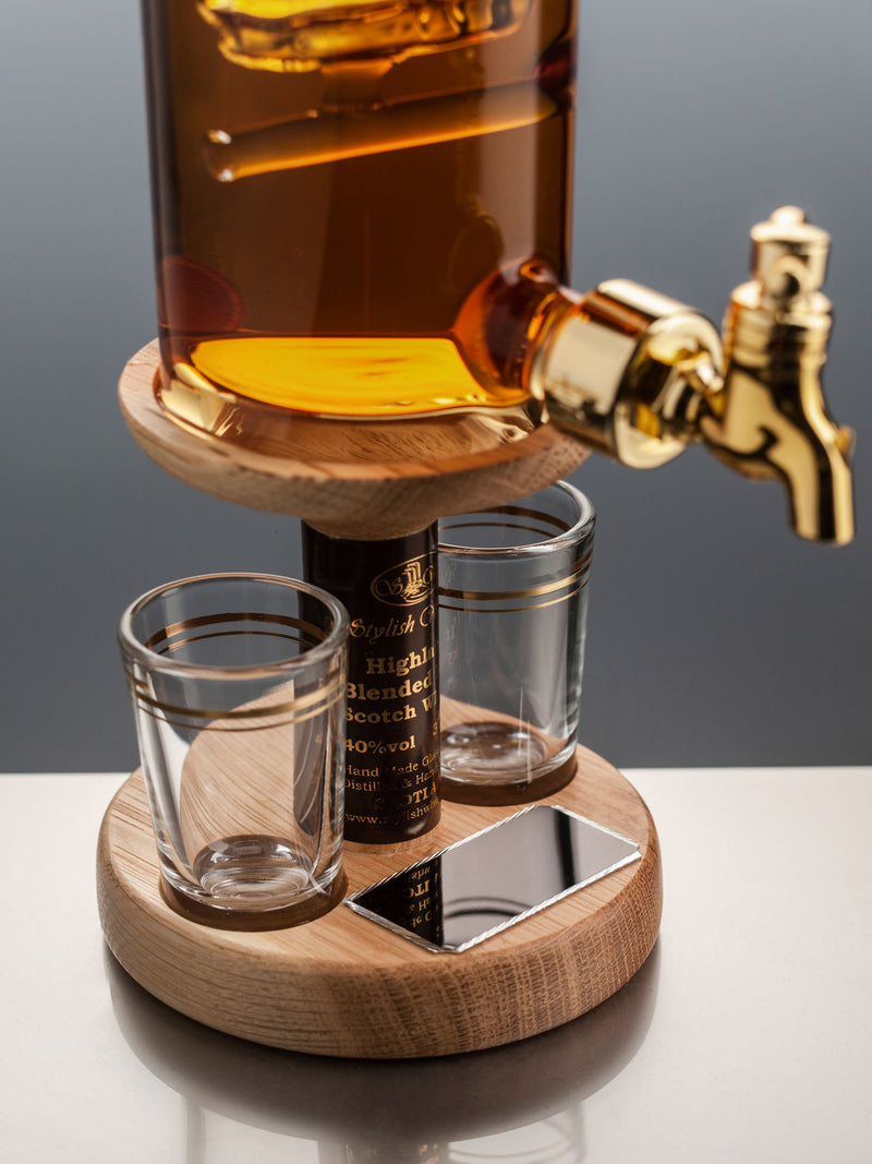 50th Birthday Present Whisky Decanter