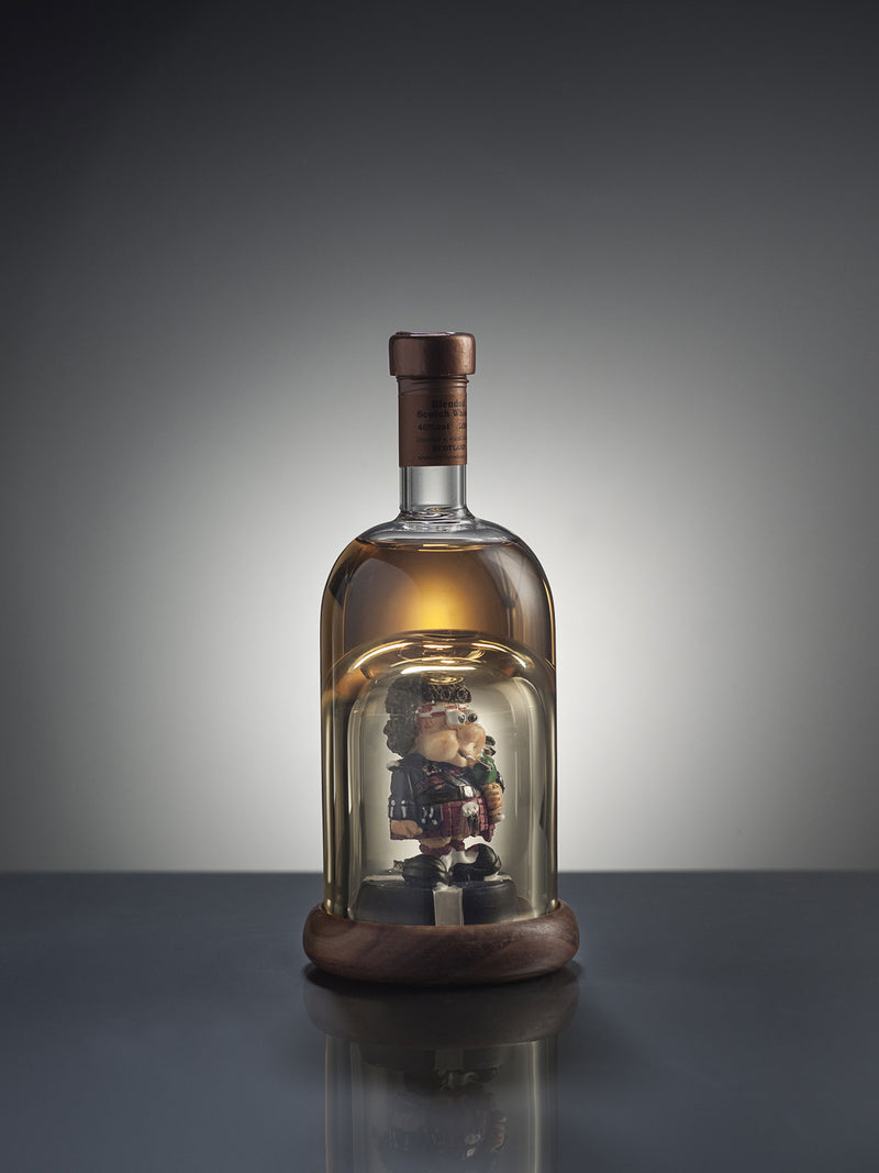 Mini Piper Figure Whisky Decanter