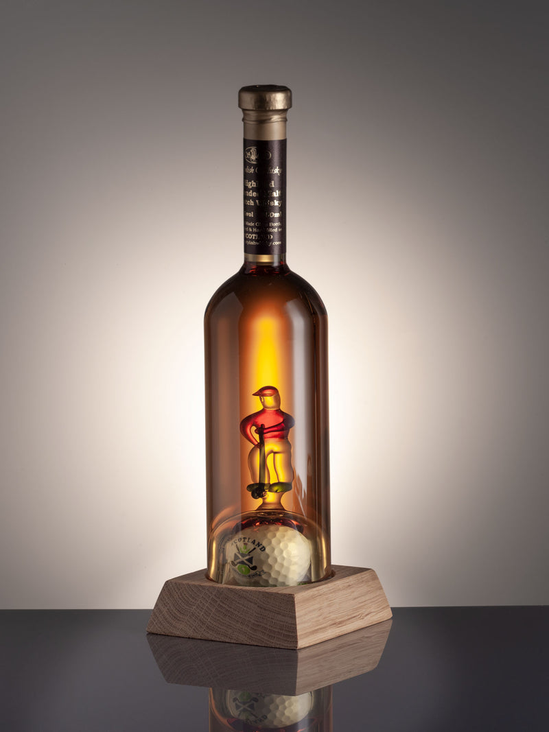 Golfer and Ball Whisky Decanter