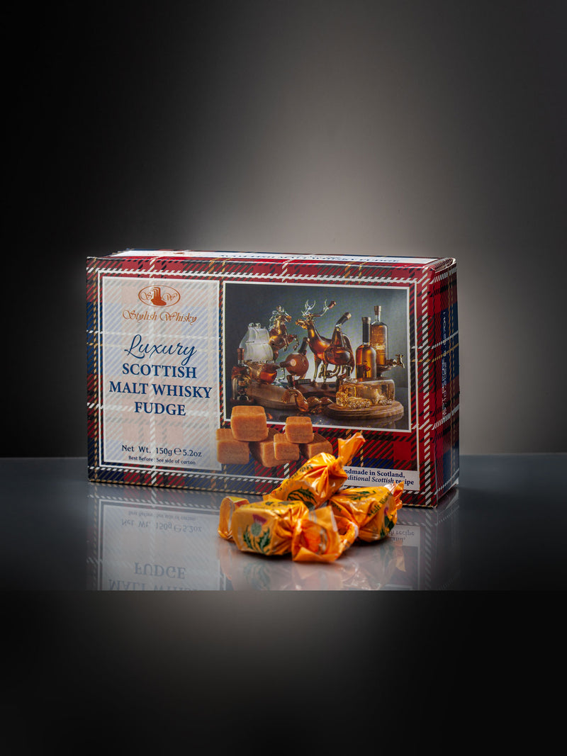 Luxury Malt Whisky Fudge