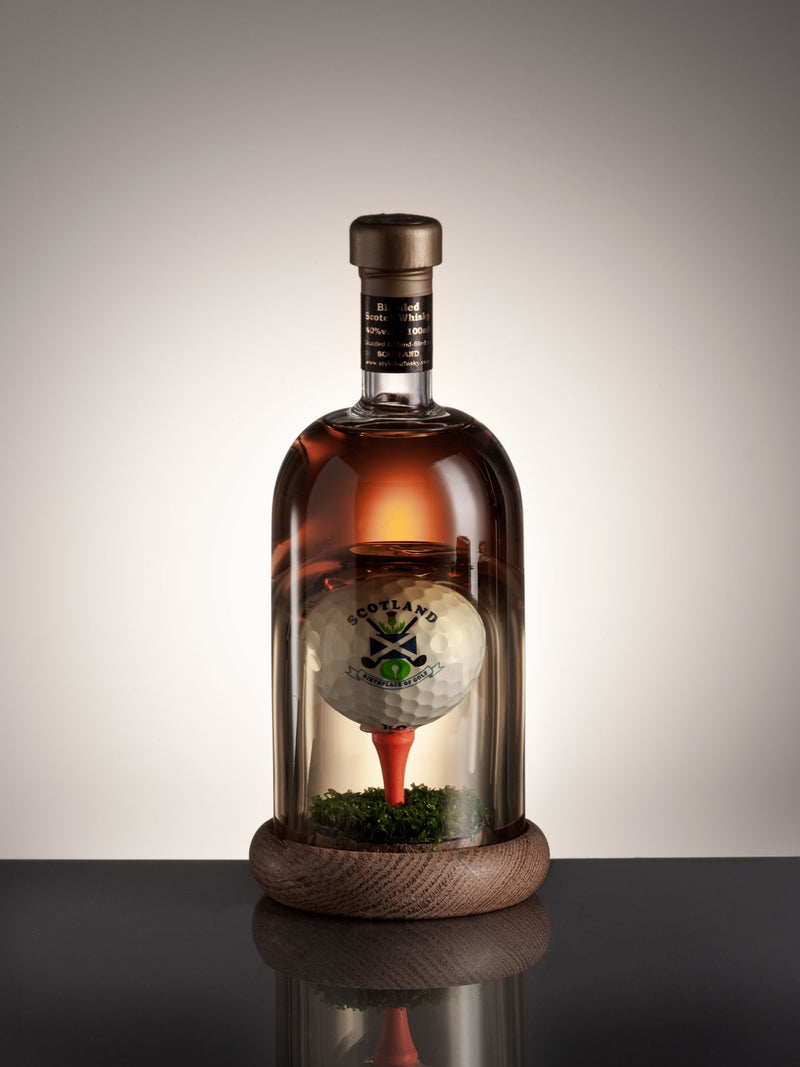 Mini Golf Ball on Tee Whisky Decanter