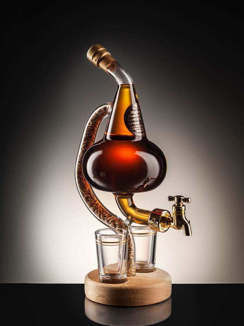 Unique Handcrafted Stag Whisky Decanter