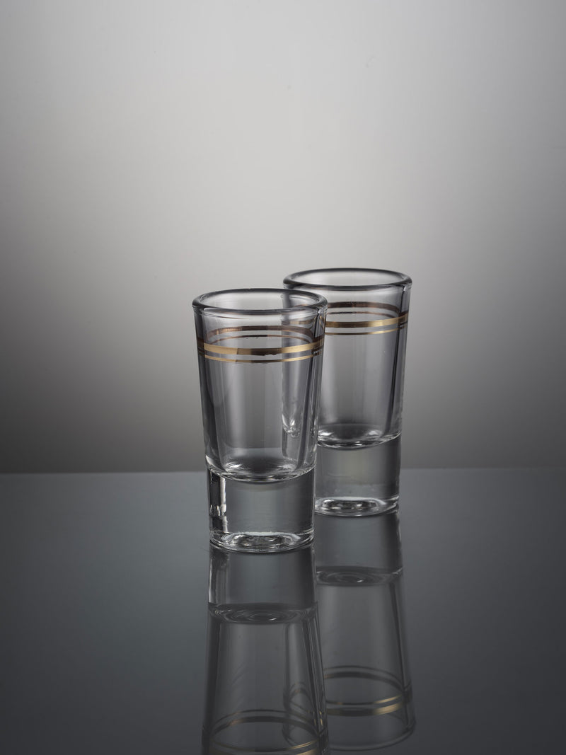 Set of 2 shot glasses