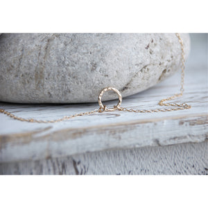 HIDDEN RING NECKLACE