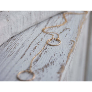 HIDDEN LARIAT NECKLACE
