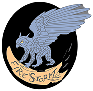 Fire Storm Badge