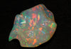 Rainbow Colors Sculptured Welo Opal Gemstone 38.39 Carats