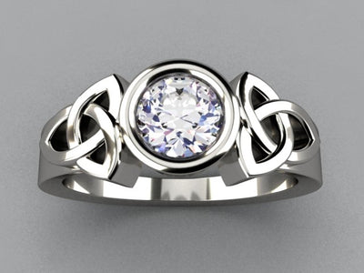 Christopher Michael Celtic Engagement Ring