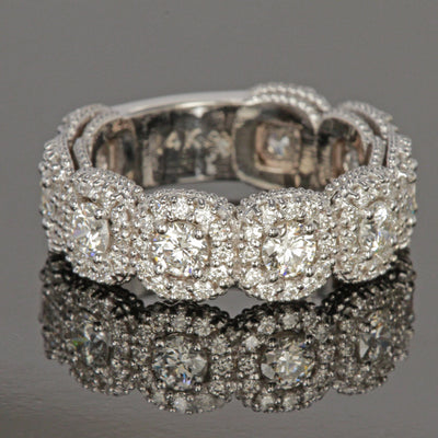 Diamond Anniversary Ring by Christopher Michael.