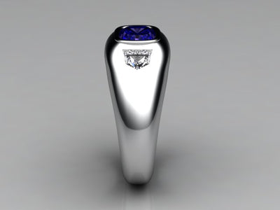 Mens Ring Designed By Christopher Michael