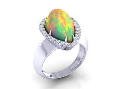 Christopher Michael Opal Ring