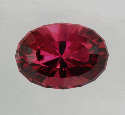Raspberry Pink Oval Tourmaline Gemstone 9.63 Carats