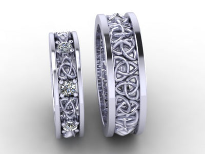 Celtic Wedding Band Designed By Christopher Michael