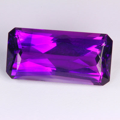 Amethyst From Madagascar Weighs 28.36 Carats