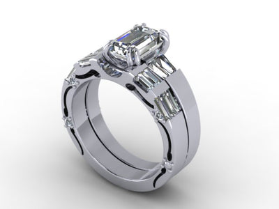 Engagement Ring by Christopher Michael