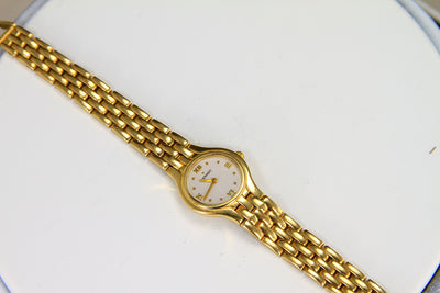 Estate Movado Watch 14 Karat Yellow Gold