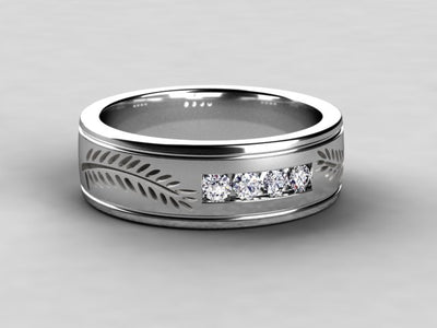 Wedding Band Designed By Christopher Michael