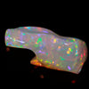 Rainbow Colors Freeform Sculpture Opal Gemstone 32.40 Carats