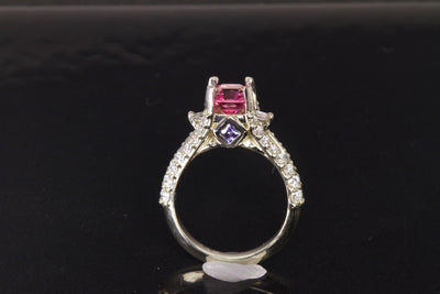 Christopher Michael Designed Engagement Ring (Mounting Only)