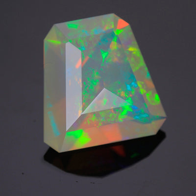 Faceted Welo Opal 11.23 Carats