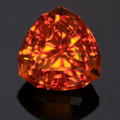 Beautiful Trilliant Citrine 18.61 Carats