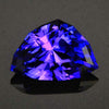 Blue Violet Shield Tanzanite Gemstone 8.60 Carats
