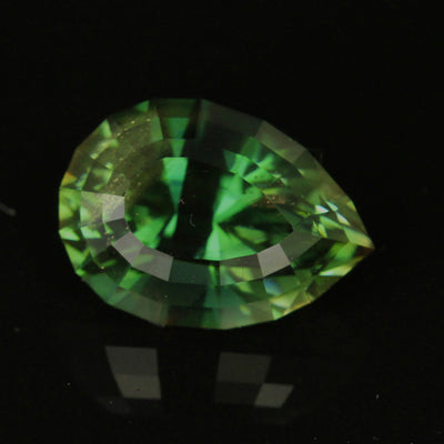 Green Oregon Sunstone 4.69 Carat Pear Shape