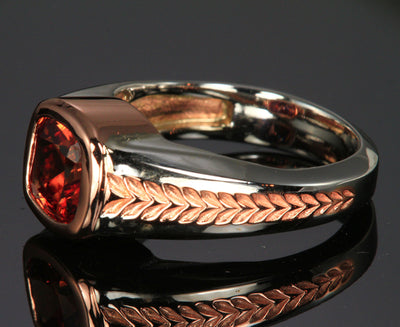"Men""s Imperial Zircon Ring"