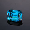 3.90ct Antique Cushion Blue Zircon