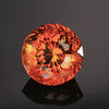 Orange Portuguese Round Citrine Gemstone 15.85 Carats