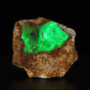 Glowing Hyalite Opal Rock Specimen