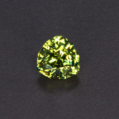 Green Stepped Trilliant Cut Mali Garnet 2.32 Carats