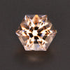 Natural Peach Color Hexagonal Morganite Gemstone 11.00 Carats
