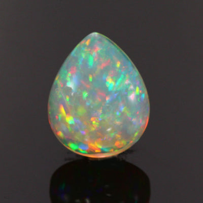 Rainbow Color Pear Shape Welo Opal Gemstone 9.71 Carats