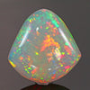 Vivid Colors Shield Shape Welo Opal  Gemstone 29 Carats