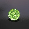 Blue/Green Round Peridot from Pakistan Gemstone 4.05 Carats