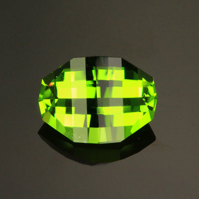 5.40ct Opposed Bar (Pixel Cut) Peridot