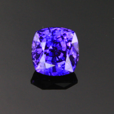 Violet/Purple Color Changing Cushion Cut Sapphire Gemstone 1.97 Carats