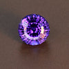 Blue Violet Round Brilliant Cut Extreme Brilliance Tanzanite Gemstone 4.72