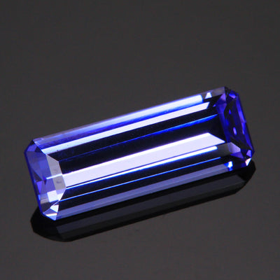 3.14ct Emerald Cut Tanzanite Gemstone