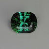 Blue/Green Antque Cushion Tourmaline Gemstone 4.25 Carats
