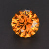 Brown Round Brilliant Zircon Gemstone 6.25 Carats