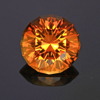Citrine Round Brilliant 18.02 Carats