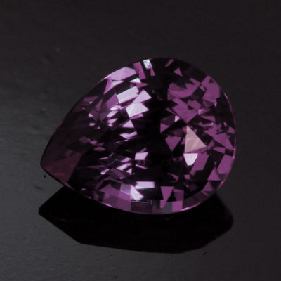 Blue/Violet Pear Shape Alexandrite-Like Garnet Gemstone  1.47 Carats