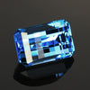 Swiss Blue Topaz Opposed Bar Cut 17.06 Carats