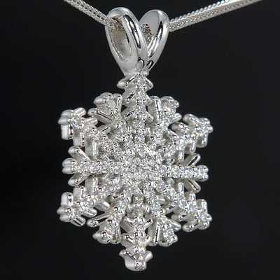 Christopher Michael Custom Diamond Snowflake Pendant Limited Edition