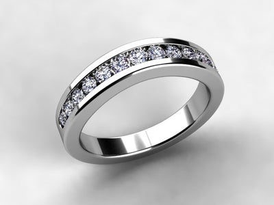 Anniversary ring by Christopher Michael.